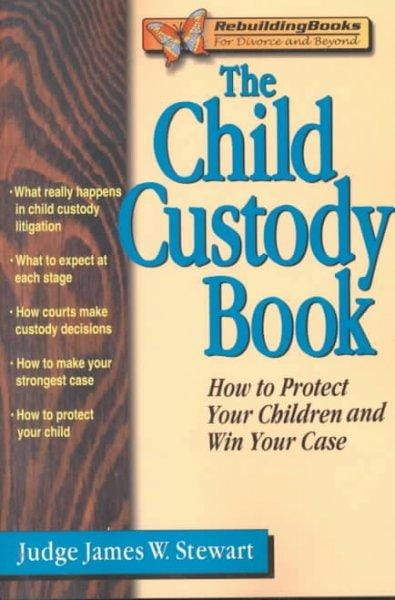 The Child Custody Book: How to Protect Your Children and Win Your Case (Paperback)