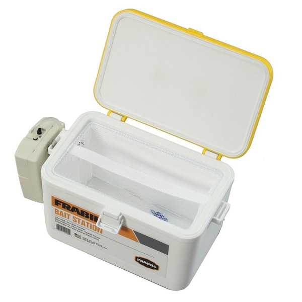 Frabill 8-quart Bait Box with Aerator