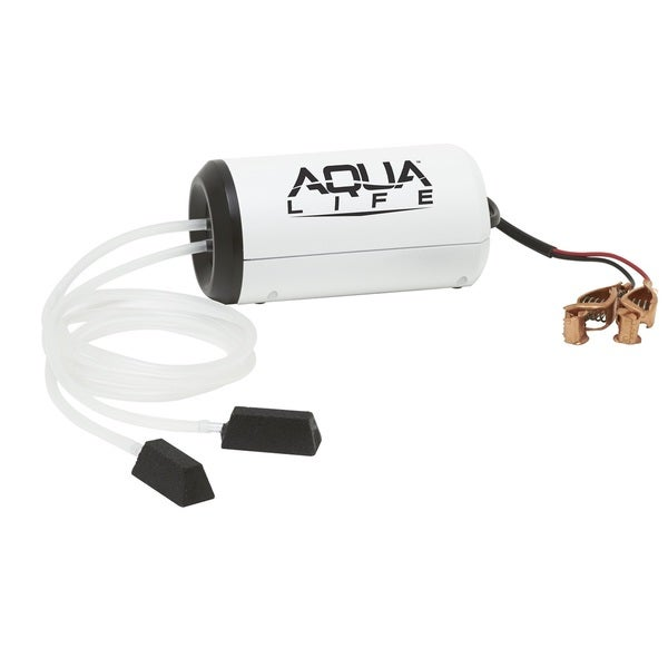 Frabill 50-gallon Dual Output 12 Volt DC Aerator