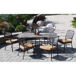 Sun Casual Pavillion 7-piece Outdoor Dining Set