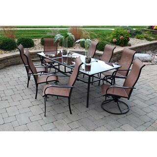 Sun Casual Cambria 9-piece Outdoor Dining Set