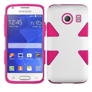 INSTEN Hybrid Rubber Coated Silicone Phone Case For Samsung Galaxy Ace Style