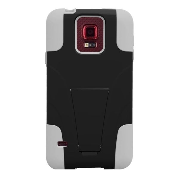 INSTEN T-Stand Hybrid Phone Case Cover with Stand For Samsung S5 Sport Sprint