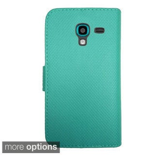 INSTEN Premium PU Leather Flip Wallet Credit Card Cover For Samsung Galaxy S5