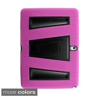 INSTEN Plain Color Premium Side Stand Cover Case For Samsung Galaxy Tab 4 10.1
