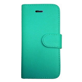 INSTEN PU Leather Flip Wallet Phone Cover Case with Card Slot For iPhone 5/5S
