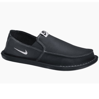 Nike SolarSoft Golf Grill Room Black Shoes