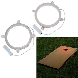 Cornhole LED Light Ring Set for Corn Hole Boards
