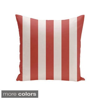 Square 16-inch Holiday Brights Collection Geometric Throw Pillow