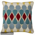Corset 18-inch Feather Filled Throw Pillows