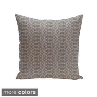 Square 18-inch Small Hexagon Geometric Decorative Throw Pillow