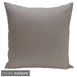 Square 26-inch Geometric Decorative Throw Pillow