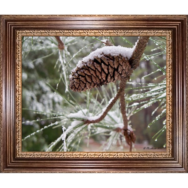 Betty Northcutt Snow in the Pines Framed Fine Art Print