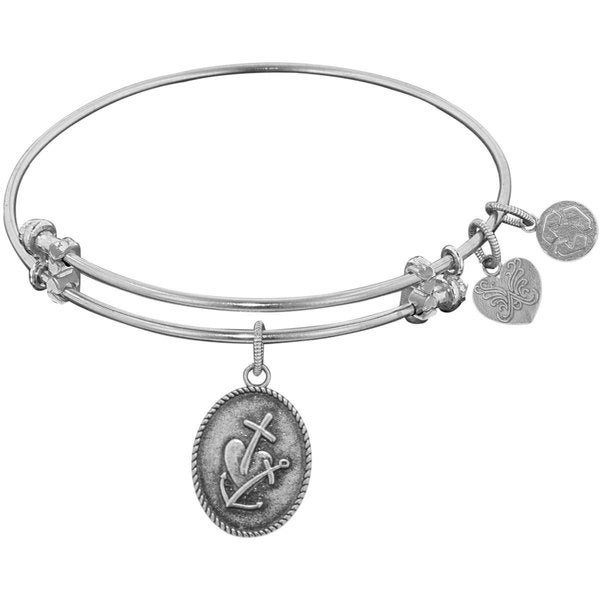 Angelica Faith, Hope, Charity Charm Bangle Bracelet