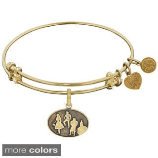 Angelica Wizard Of Oz Silhouette Charm Bangle Bracelet