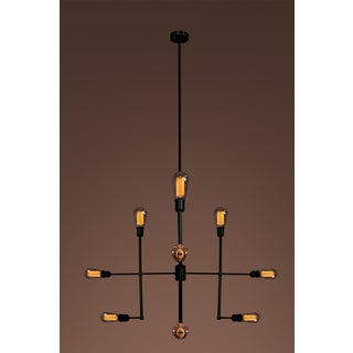 Delia Edison Light Chandelier