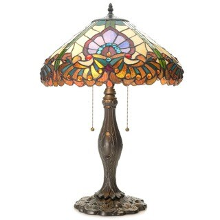 Tiffany-style Aideline Table Lamp