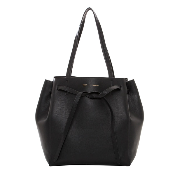 celine box bag price - Celine Small 'Cabas' Black Phantom Belt Tote - 16736304 ...