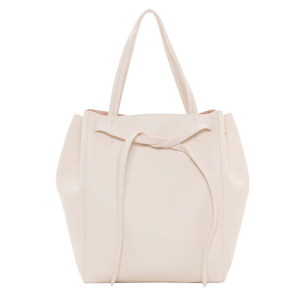 Celine Medium Cabas Phantom Cream Leather Tote - 16736310 ...