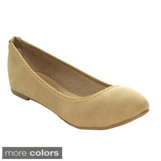 Blossom Women's 'Epson-63' Slip-on Classic Ballet Flats