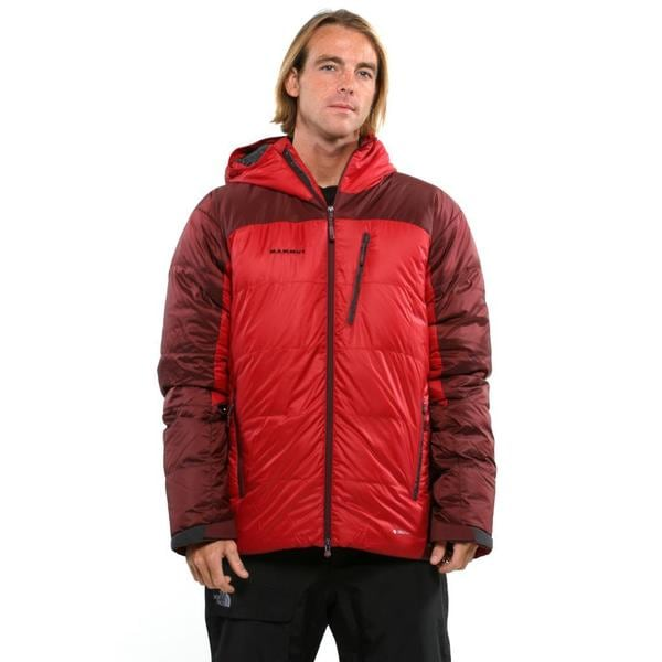 Mammut Men's Dark Inferno-Andorra Ambler Hooded Jacket