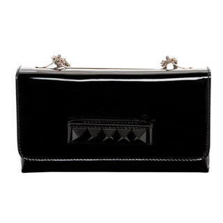 Valentino 'Va Va Voom' Black Patent Leather Shoulder Bag