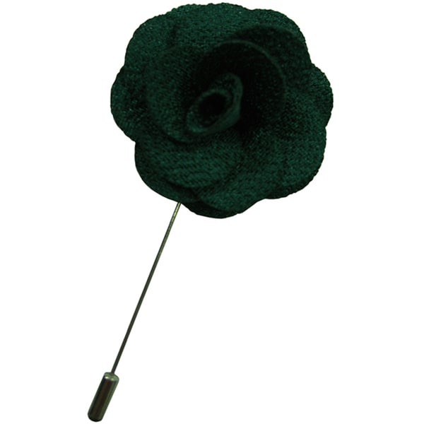 Dmitry Men's Emerald Green Flower Lapel Pin