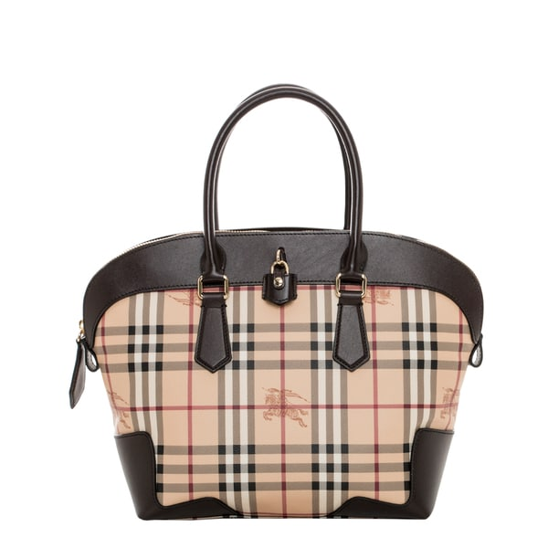 Burberry 'Primrose' Medium Haymarket Tote
