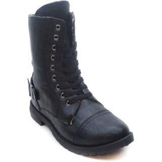 Blue Women's 'Molly Ann' Faux Leather Black Boots