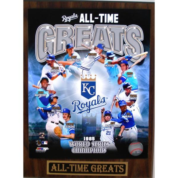 Kansas City Royals All Time Greats Plaque