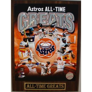 Houston Astros All Time Greats Plaque
