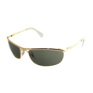 Ray-Ban Men's 'RB 3119 Olympian 001' Arista Gold Metal Sunglasses (59 mm)
