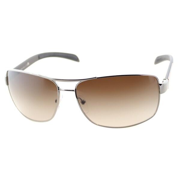Prada Linea Rosa Unisex 'PS 54IS 5AV6S1' Aviator Sunglasses