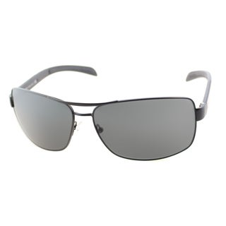 Prada Linea Rosa Men's 'PS 54IS 1BO1A1' Aviator Sunglasses