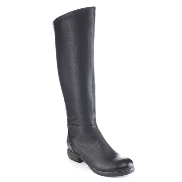 C-label Women's 'Cathy-11' Military Knee-high Riding Boots