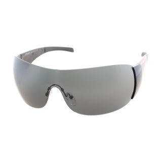Prada Linea Rosa Unisex 'PS 07HS 1AB1A1' Shield Sunglasses