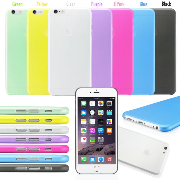 Gearonic Ultra Thin Matte Case Cover for Apple iPhone 6 Plus 5.5""
