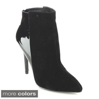 C-label Women's 'Cosmo-3' Stiletto Heel Ankle Booties