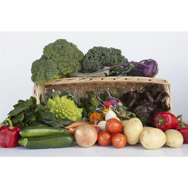 Nature's Garden Delivered Large Organic Vegetable Box (Local Delivery)