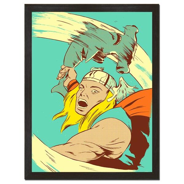 Hammer Time 18x24-inch Art Print