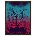Deer Forest 18x24-inch Art Print