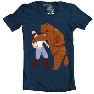The Bear Strikes Back Men's T-shirt