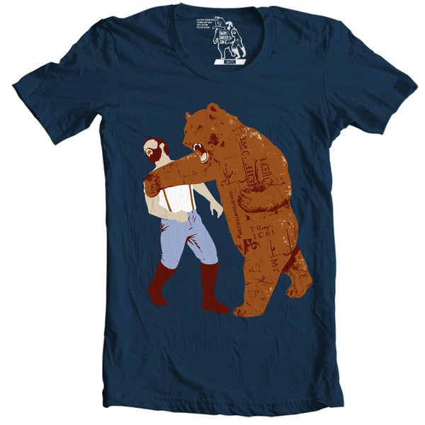 The Bear Strikes Back Men's T-shirt
