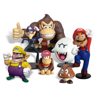 Super Mario Brothers 2-inch Mini-figure Series 4 Set