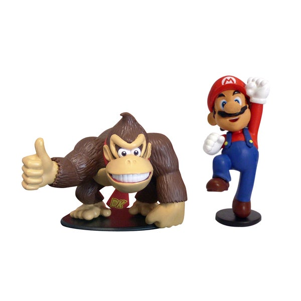 Super Mario Brothers Mario and Donkey Kong
