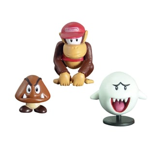 Super Mario Brothers Diddy and Goomba