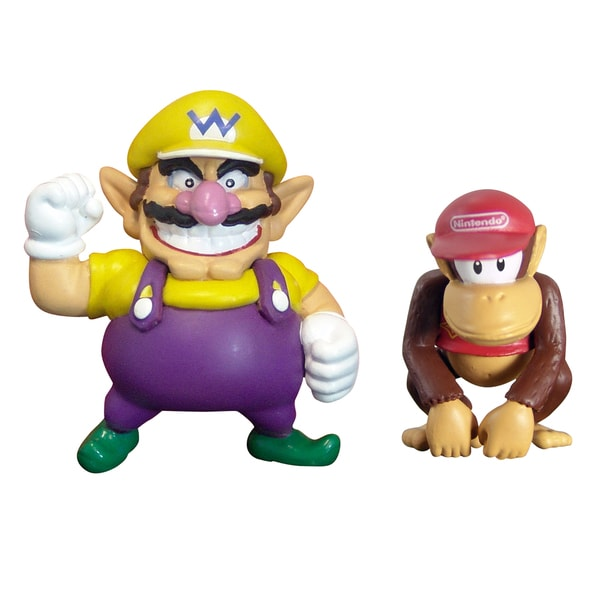 Super Mario Brothers Diddy and Wario