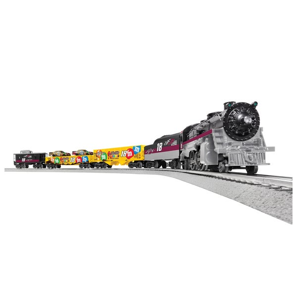 Lionel Nascar Kyle Busch O Gauge Train Set