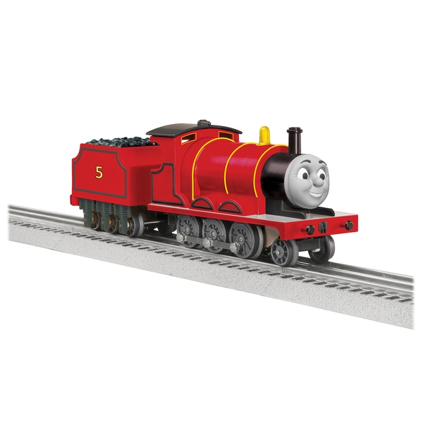 Lionel Trains Thomas and Friends James Locomotive Set