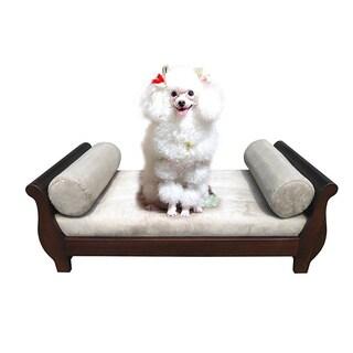 D-Art Sleigh Dark Brown Pet Bed (Indonesia)